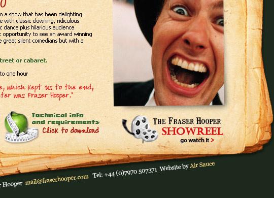 Fraser Hooper Website