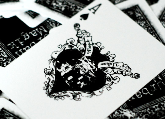 Urban Magik - Playing card design